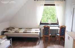 Monteurzimmer nahe Roedinghausen - bis 2 Personen im 1. Obergeschoss, Zimmer 4