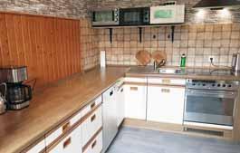 Monteur-Unterkunft in Bünde - Ansicht der Küche