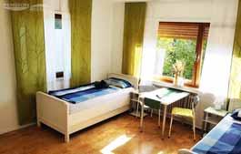 Pension in Buende - Doppelzimmer 2 - Raumansicht