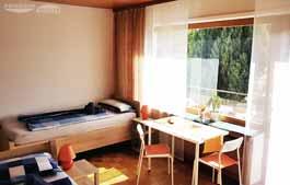 Pension Buende naehe Kirchlengern - Doppelzimmer - Ansicht Ausblick (Zimmer 3)